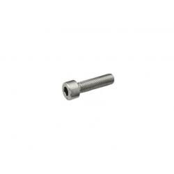ZESTAW 2x Klema środkowa czarna + Śruba M8x25 + Wpust