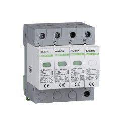 Noark ogranicznik przepiec, typ I+II, 275 V AC, 12,5 kA, wymienna wkładka, 3+N-bieg