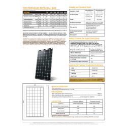 SW Premium BIFACIAL (HJT) 300W, 6mm