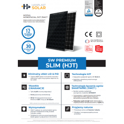 SW Premium SLIM (HJT) Black/White 325W