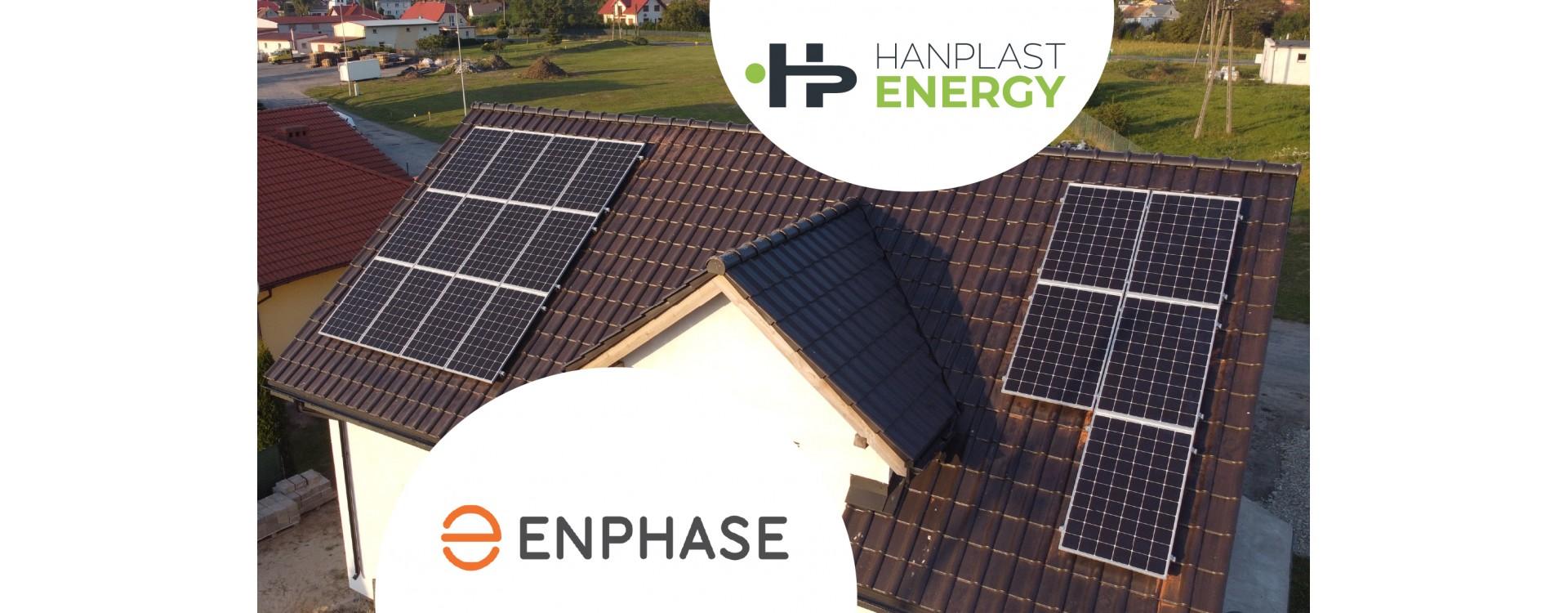 Mikroinwertery Enphase w ofercie Hanplast Energy